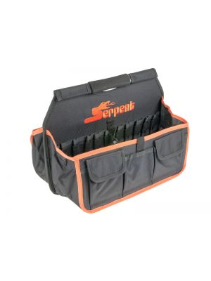 Serpent Boxentasche # Schwarz-Orange