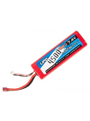 NVision Sport LiPo 2S-4500mAh-45C/Deans