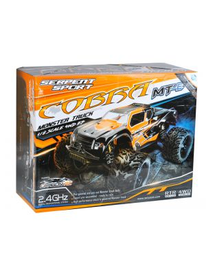 600038 | Serpent Cobra MT-E Monster Truck 1:8 4WD # RTR Edition
