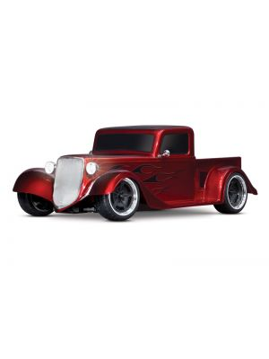Traxxas 93034-4-RED - Factory Five '35 Hot Rod Truck 1/10 AWD RTR Red | Produtkansicht vom Traxxas Factory Five '35 Hot Rod Truck rot 1:10 RTR Brushed LED ohne Akku/Lader