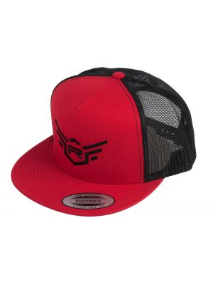 REDS Racing Rennkappe Flexfit Snapback 5th Colection # schwarz rot