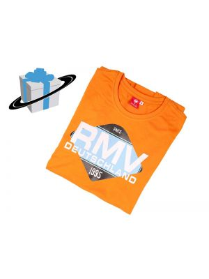 RMV Herren Racewear T-Shirt (XL) # orange