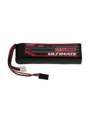 UR4453-1 ULTIMATE 6.6v. 2500mAh LiFe FLAT TRANSMITER BATTERY PACK JR (7PX-M12SERIES) Produktansicht vom Ultimate Competition LiFe Flatpack Straight 2500mAh 6.6V # 7PX/PXR-M12Series