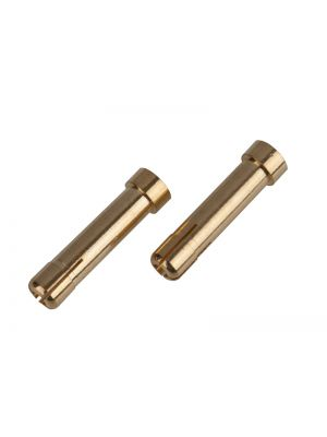 Ultimate RC Gold Stecker Adapter 4mm - 5mm Female (2) Banana Connector