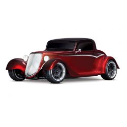 Traxxas 93044-4-RED - Factory Five '35 Hot Rod Coupe 1/10 AWD RTR Red | Produtkansicht vom Traxxas Factory Five '35 Hot Rod Coupe rot 1:10 RTR Brushed LED ohne Akku/Lader
