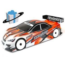 Angebot - Bittydesign 1:10 Touring 190mm Striker 3.0 Karosserie Light