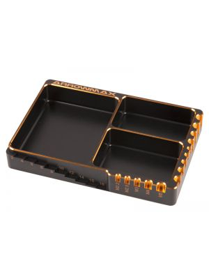 Arrowmax Multi Schrauben Box als Black Golden Edition # 120x80x18mm